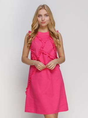 Платье малиновое | 4810133