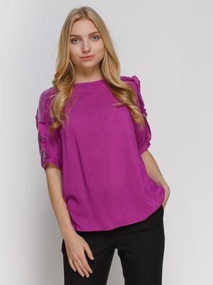 Блуза фиолетовая | 4810099