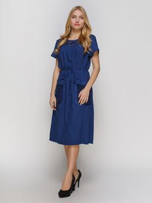 Платье темно-синее | 4810108