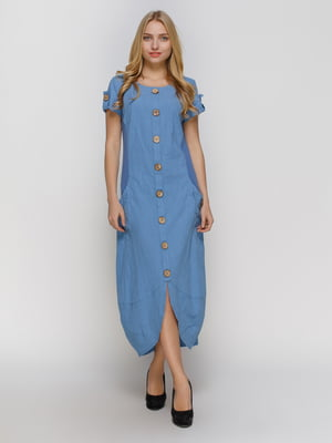 Платье синее | 4810116