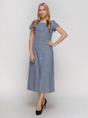 Сукня синя | 4810111