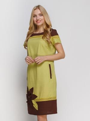 Сукня двоколірна | 4810114
