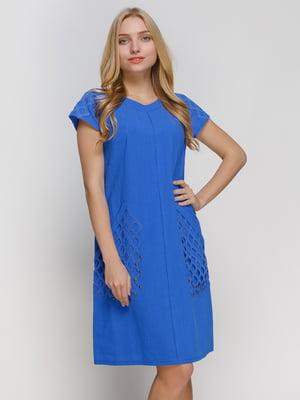 Сукня волошкового кольору | 4810103