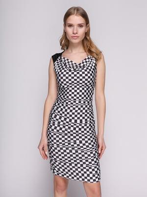 Платье в шахматный рисунок | 402720