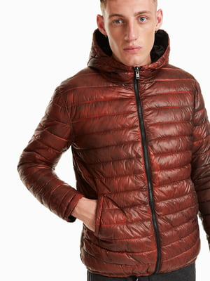 Куртка кирпичного цвета   4688053
