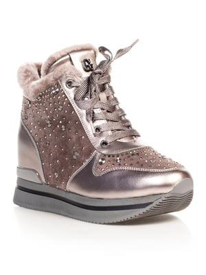 Ботинки серые | 4724238