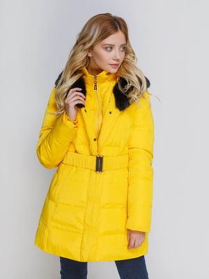 Пальто желтое | 4705252