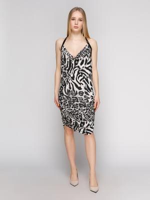 Платье анималистической расцветки | 434158