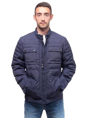 Куртка темно-синяя   4654354