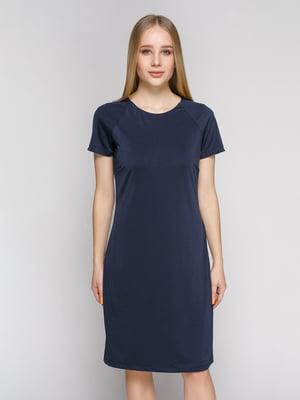 Платье темно-синее | 1215248