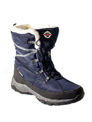 Ботинки темно-синие | 4798165