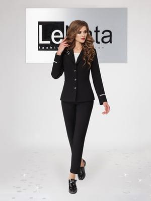 Костюм: блуза, жакет и брюки | 4647543