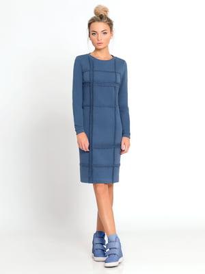 Платье голубое | 4816065