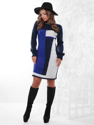 Сукня трикольорова | 4815748