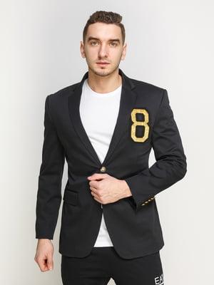 Піджак чорний | 2900903