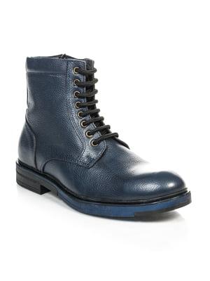 Ботинки синие | 4809484