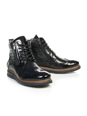 Ботинки черные | 4800146