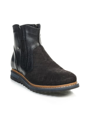 Ботинки черные | 4800140