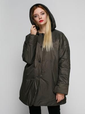 Куртка цвета хаки | 4790601