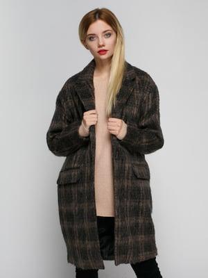 Пальто коричневе | 4790547