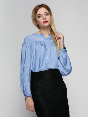 Блуза голубая | 4789309