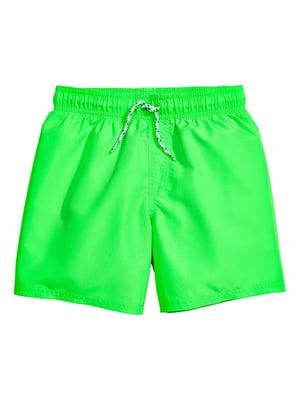 Шорты зеленые купальные | 4771159