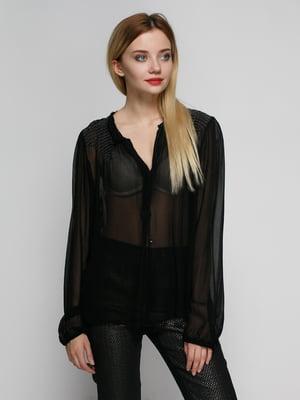 Блуза черная | 4789311