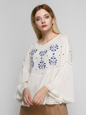 Блуза молочная | 4789459