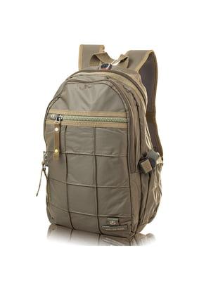Рюкзак цвета хаки | 4724200
