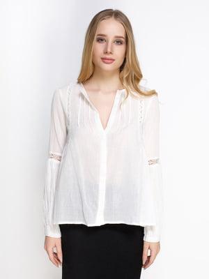 Блуза белая   4789313