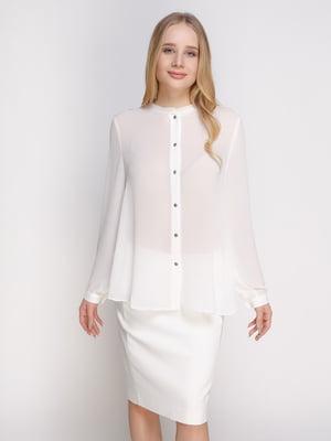 Блуза белая   4789312