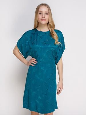 Платье бирюзовое   4791330