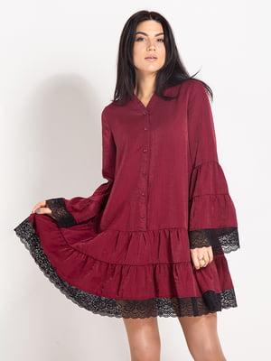 Сукня бордова | 4817408