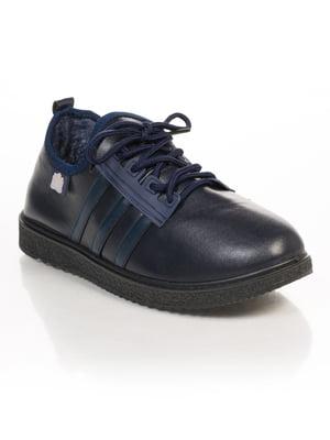 Ботинки темно-синие | 4817048