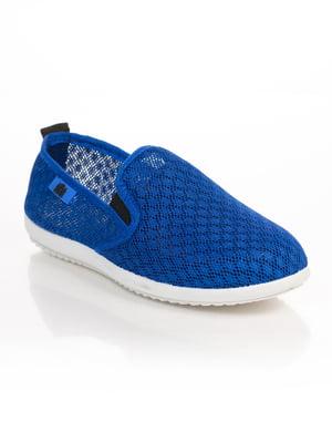 Слипоны синие | 4817061