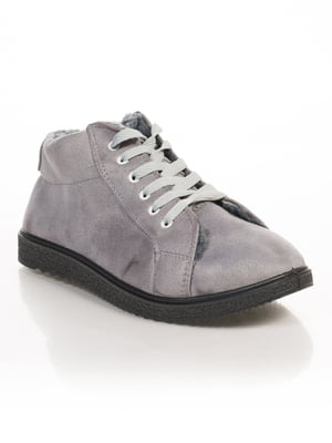 Ботинки серые | 4817050