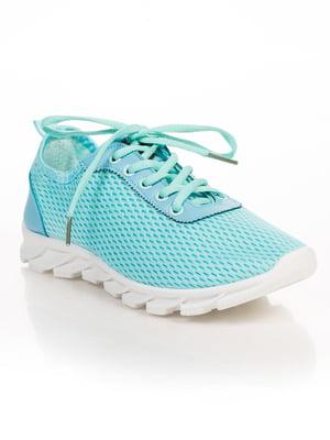 Кроссовки голубые | 4817056