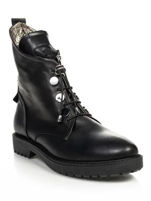 Ботинки черные   4730677