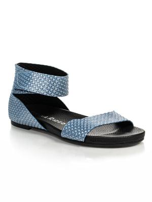 Сандалії блакитні | 4429754