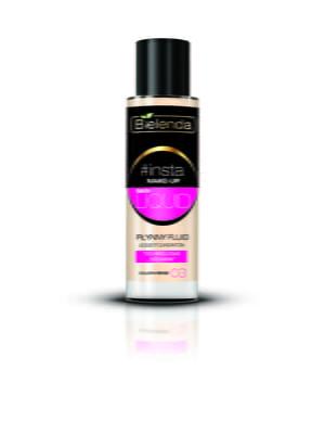 Крем тональный #Insta Make-Up - Skin Liquid — золотой беж | 4817973