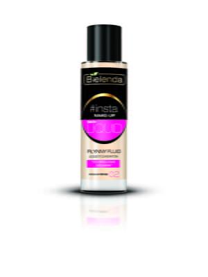 Крем тональный #Insta Make-Up - Skin Liquid — средний беж | 4817975
