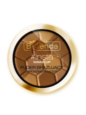 Пудра бронзирующая #insta make-up — золотой беж | 4817978