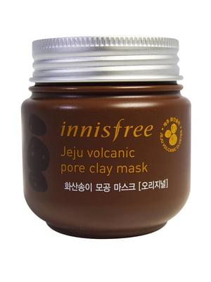 Маска для обличчя Jeju Volcanic Pore Clay Mask (100 мл) | 4818051
