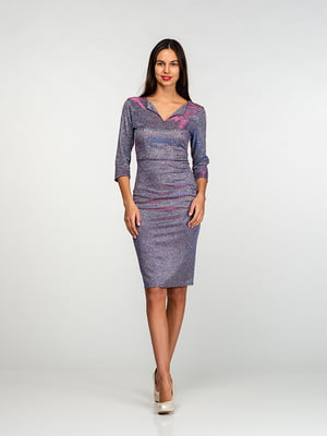 Сукня кольору металік | 4818137