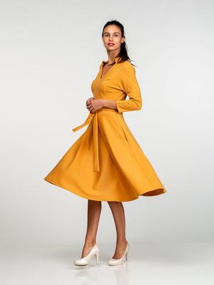 Платье желтое | 4818174