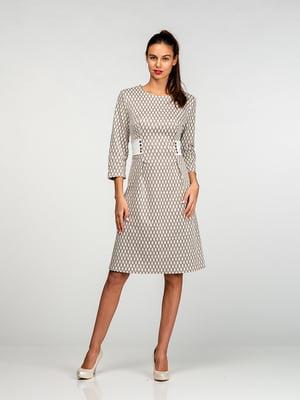 Платье молочно-золотистого цвета | 4818185