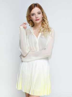 Блуза светло-желтая | 4789310