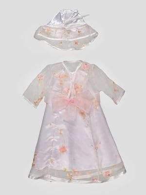Сукня рожева з капелюхом   4816713