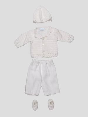 Комплект: кофта, брюки и шапочка | 1651592