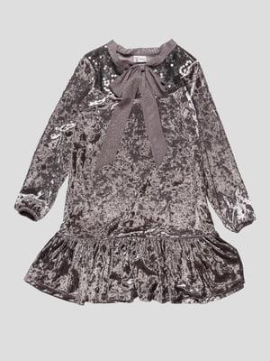 Платье серое   4762305